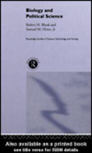 Ebook in inglese Biology and Political Science Blank, Robert , Hines Jnr., Samuel M.
