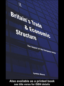 Ebook in inglese Britain's Trade and Economic Structure Moore, Lynden