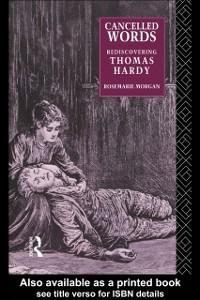 Ebook in inglese Cancelled Words Morgan, Rosemarie