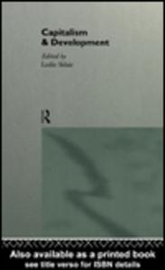 Ebook in inglese Capitalism and Development Sklair, Leslie