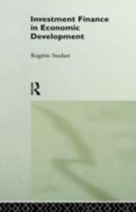 Ebook in inglese Investment Finance in Economic Development Studart, Rogerio