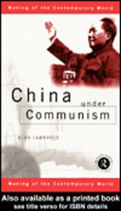 Ebook in inglese China Under Communism Lawrance, Alan