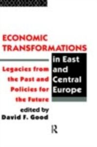 Ebook in inglese Economic Transformations in East and Central Europe -, -