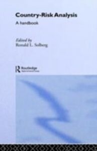 Ebook in inglese Country Risk Analysis Solberg, Ronald L.