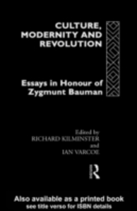 Ebook in inglese Culture, Modernity and Revolution -, -
