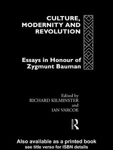Ebook in inglese Culture, Modernity and Revolution