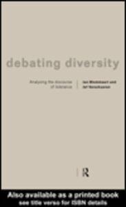 Ebook in inglese Debating Diversity Blommaert, Jan , Verschueren, Jef
