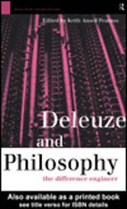 Foto Cover di Deleuze and Philosophy, Ebook inglese di Keith Ansell Pearson, edito da