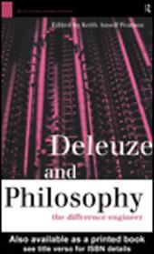 Deleuze and Philosophy