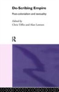 Ebook in inglese De-Scribing Empire -, -