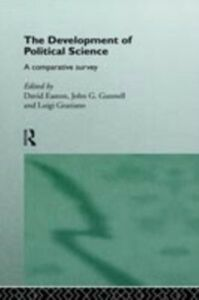 Ebook in inglese Development of Political Science
