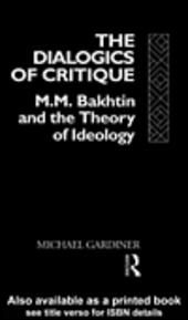 The Dialogics of Critique