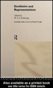 Ebook in inglese Durkheim and Representations