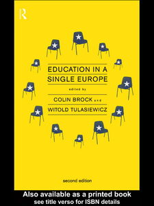 Ebook in inglese Education in a Single Europe