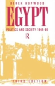 Ebook in inglese Egypt 1945-1990 Hopwood, Derek