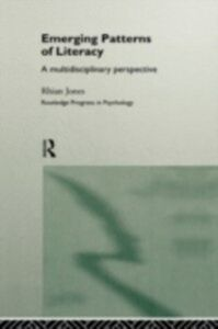 Ebook in inglese Emerging Patterns of Literacy Jones, Rhian