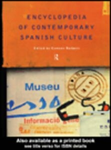 Ebook in inglese Encyclopedia of Contemporary Spanish Culture