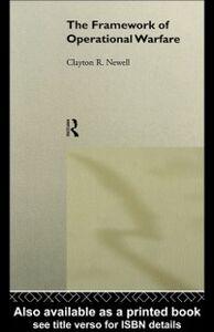 Foto Cover di Framework of Operational Warfare, Ebook inglese di Clayton Newell, edito da Taylor and Francis