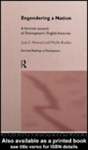 Ebook in inglese Engendering a Nation Howard, Jean E. , Rackin, Phyllis