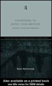 Ebook in inglese Engineers in Japan and Britain McCormick, Kevin