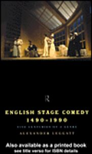 Ebook in inglese English Stage Comedy 1490-1990 Leggatt, Alexander