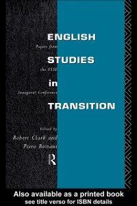 Foto Cover di English Studies in Transition, Ebook inglese di  edito da Taylor and Francis