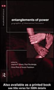 Ebook in inglese Entanglements of Power Paddison, Ronan , Philo, Chris , Routledge, Paul , Sharp, Joanne