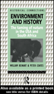 Ebook in inglese Environment and History Beinart, William , Coates, Peter