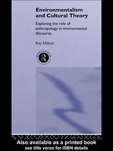Ebook in inglese Environmentalism and Cultural Theory Milton, Kay