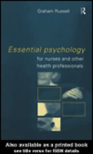 Ebook in inglese Essential Psychology for Nurses and Other Health Professionals Russell, Graham