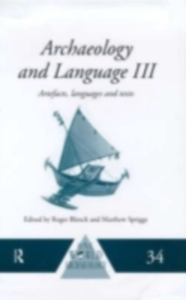 Ebook in inglese Archaeology and Language I -, -
