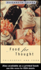 Ebook in inglese Food for Thought Telfer, Elizabeth