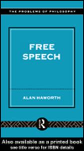 Ebook in inglese Free Speech Haworth, Alan