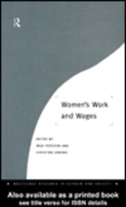 Ebook in inglese Women's Work and Wages