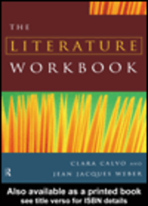 Ebook in inglese The Literature Workbook Calvo, Clara , Weber, Jean Jacques