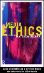 Ebook in inglese Media Ethics