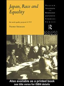 Ebook in inglese Japan, Race and Equality Shimazu, Naoko