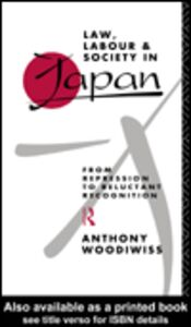 Foto Cover di Law, Labour and Society in Japan, Ebook inglese di Anthony Woodiwiss, edito da