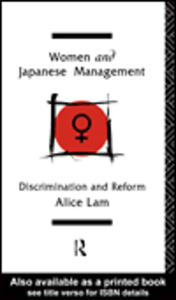 Ebook in inglese Women and Japanese Management Lam, Alice C. L.