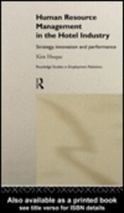 Ebook in inglese Human Resource Management in the Hotel Industry Hoque, Kim