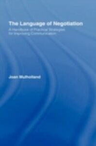 Ebook in inglese Language of Negotiation Mulholland, Joan
