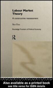 Foto Cover di Labour Market Theory, Ebook inglese di Ben Fine, edito da