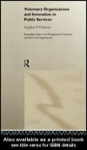 Ebook in inglese Voluntary Organizations and Innovation in Public Services Osborne, Stephen P.
