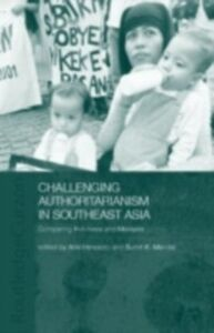 Foto Cover di Challenging Authoritarianism in Southeast Asia, Ebook inglese di  edito da Taylor and Francis