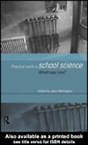 Ebook in inglese Practical Work in School Science