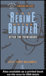 Ebook in inglese The Regime of the Brother MacCannell, Juliet Flower
