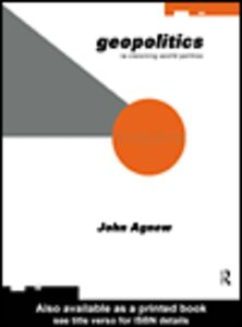 Ebook in inglese Geopolitics Agnew, John