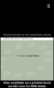 Ebook in inglese Privatization in the European Union