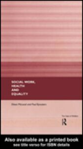 Ebook in inglese Social Work, Health and Equality Bywaters, Paul , McLeod, Eileen