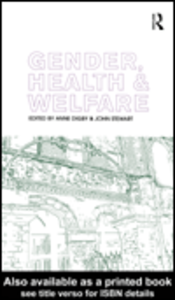 Ebook in inglese Gender, Health and Welfare